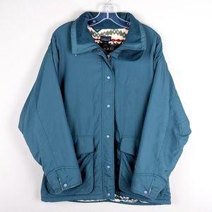 Patagonia | Teal Aztec Print Jacket